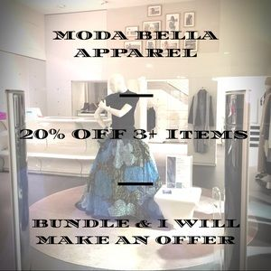 20% OFF 3 OR MORE ITEMS